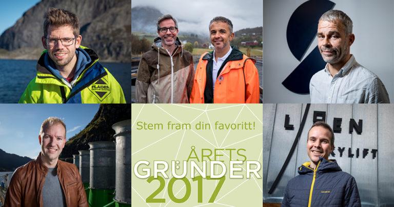 Årets gründer 2017. Foto.