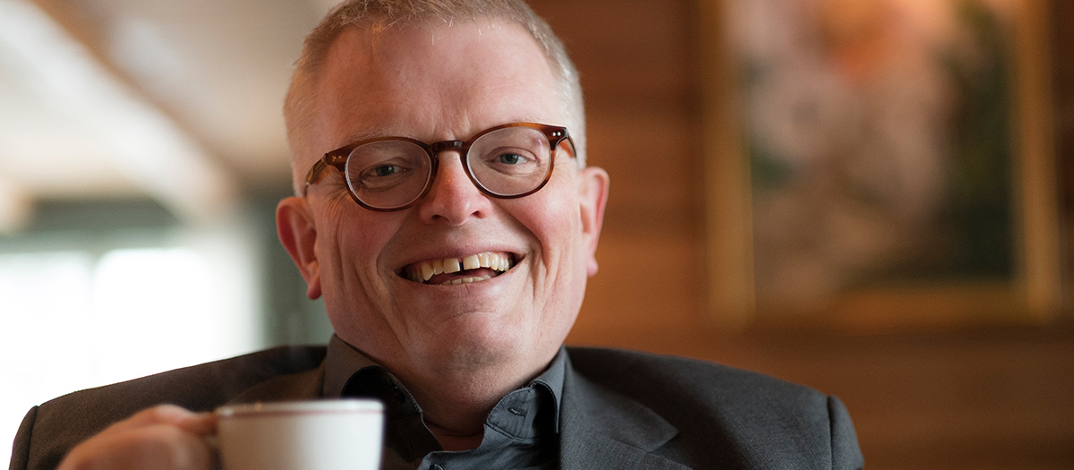 Eirik Newth. Foto.