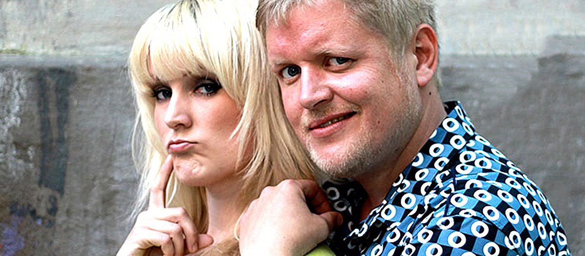 Henning Stranden og Maria Mohn. Foto.
