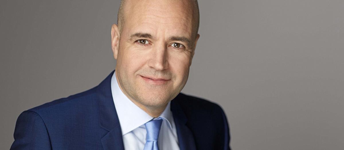 Fredrik Reinfeldt. Foto.