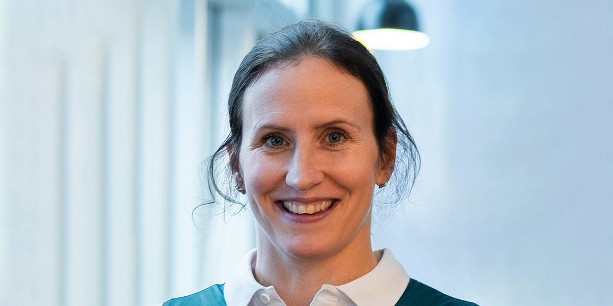 Portrettbilde av Marit Bjørgen.
